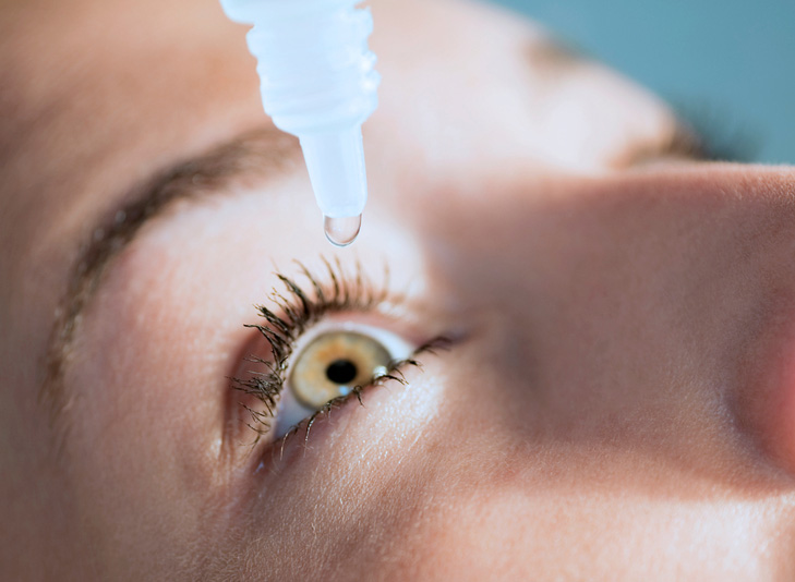 Drops for dry eye syndrome