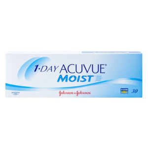 Acuvue 1 Day Moist Contact Lenses 30 Pack